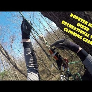 Ropetek Hitch Hiker Recreational Tree Climbing Gear