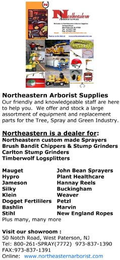 Northeastern Arborist Supplies