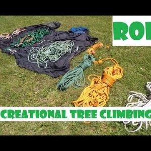 Rope for Recreational Tree Climbing